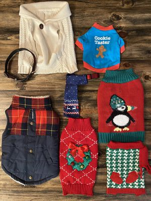 Holiday dog clothes bundle for Sale in Belle Isle, FL