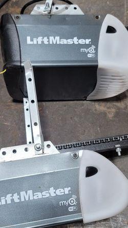 2 Liftmaster WiFi Garage Door Openers With Doors for Sale in Hillsboro,  OR