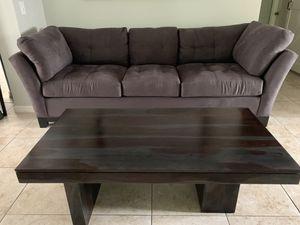 Slate gray microfiber sofa for Sale in Clearwater, FL