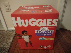 Size 4 Huggies Diapers for Sale in Alexandria, VA