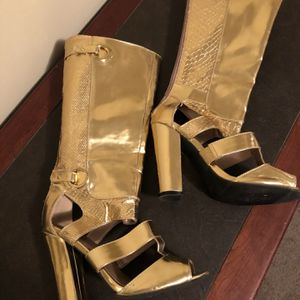 Qupid Size 6-1/2 Women's High Heel Sexy Boots for Sale in Marietta, GA
