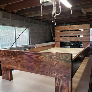 Handcrafted Wodden Bed [Twin Size] for Sale in Gresham, OR