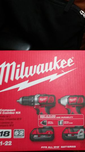 Milwaukee combo kit for Sale in Fallbrook, CA