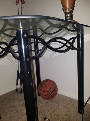 Glass table for Sale in Stone Mountain, GA