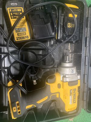 Dewalt Impact wrench with the charger and with the battery very good condition only used a couple times for Sale in North Plainfield, NJ