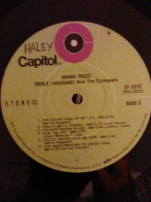 """RARE"" Vintage 1968 Merle Haggard and the Strangers (Mama Tried) Vinyl Record for Sale in Huntington Beach, CA"
