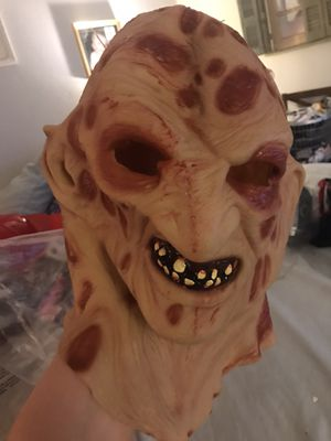 Halloween mask and glove for Sale in Arlington, TX