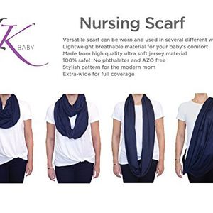 Lk Navy Nursing Scarf for Sale in St. Petersburg, FL