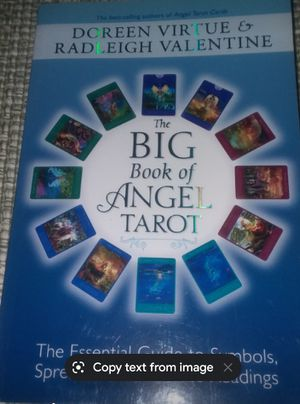 Large book of Angel Tarot for Sale in Parma, OH
