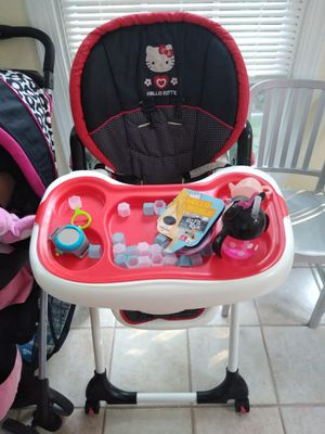 Hello Kitty high chair for Sale in Springfield, VA