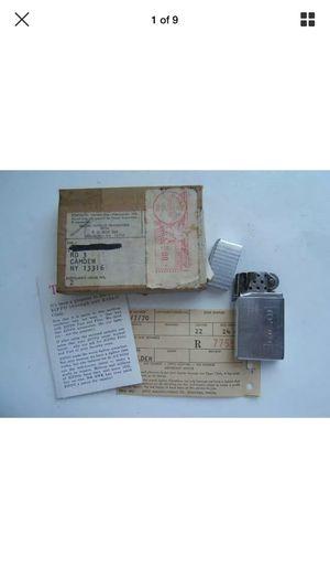 Zippo slim 1970 with original zippo clinic box for Sale in Orlando, FL