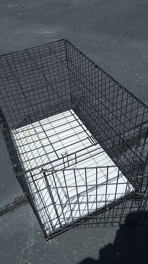 Xl dog cage very nice no rust for Sale in Midlothian, VA
