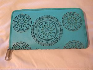 Turquoise wallet for Sale in Hoquiam, WA