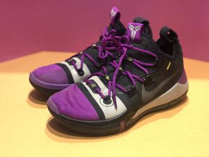 Nike Kobe A.D. 2018 Lakers Away Black Purple Basketball Shoes AV3555-002 SZ 8 for Sale in Willingboro, NJ