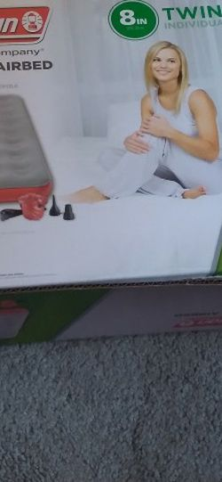 Twin Coleman Airbed,red & grey (no pump) Used 2x for Sale in Seaside,  CA