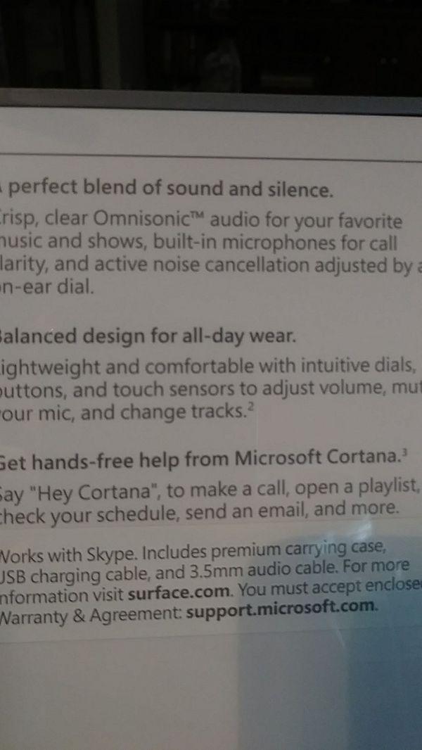 Microsoft Surface Bluetooth Headphones