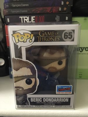 Funko Pop Television GOT Beric Dondarrion 2018 Fall New York Comic Con Exclusive Official Sticker (65) for Sale in San Diego, CA