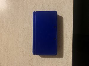 Blue Nintendo 3ds with Luigis Mansion for Sale in Los Angeles, CA