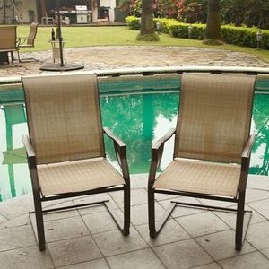 SHIPPING ONLY 2 Piece Patio Furniture Outdoor Lawn Chair Set for Sale in Las Vegas, NV