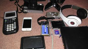 Fitbit watch, iPhone, beats head phones, and everything else in picture for Sale in Las Vegas, NV