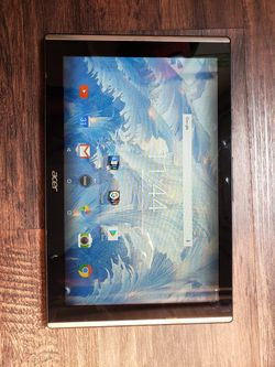 """Acer Iconia One 10 B3-A30 Tablet, 10.1"""" (1280 x 800) Display, 1GB RAM, 32GB Memory, Android 6.0, Marble White for Sale in Ruskin,  FL"""