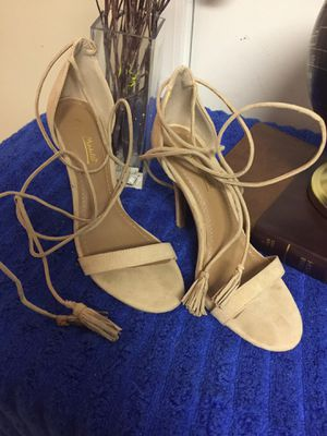 Anne Michelle Heels w/Leg Straps Size 7 1/2 for Sale in North Little Rock, AR