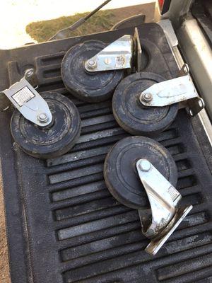 Casters wheels for Sale in Riverside, CA