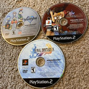 PS2 Bundle: Final Fantasy & Kingdom Hearts for Sale in Tacoma, WA
