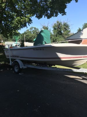 Wellcraft 18' sport center console for Sale in Chester Heights, PA