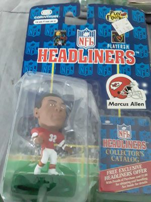 Marcus Allen NFL headliners toy for Sale in Downey, CA