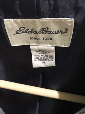 Eddie Bauer ladies lined light weight jacket for Sale in Pompano Beach, FL