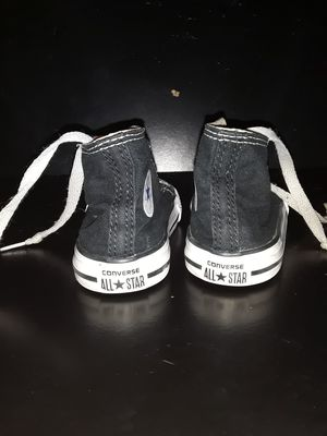 Black&White Converse Toddler Shoes for Sale in Wichita, KS