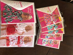 1990's Barbie Greeting Card with Barbie Dress for Sale in Cerritos, CA