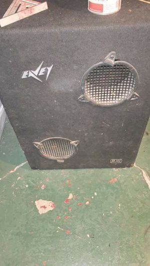 Eavey speakers and box gets loud has 15s west indy $30 cheap works great for Sale in Indianapolis, IN