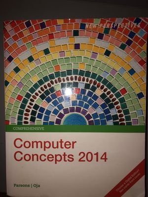 Computer concepts 2014 book for Sale in West Palm Beach, FL