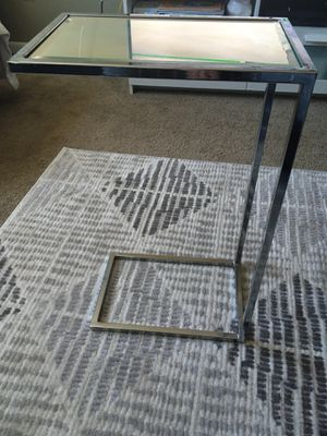 mirror tray side table for Sale in Agawam, MA