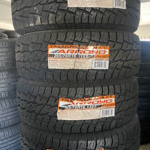 265/70R16 Arroyo AT $460 Four Brand New Tires ( Installation & Balancing Included ) for Sale in Rialto, CA