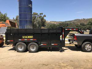 14' Gooseneck Dump Trailer for Sale in San Diego, CA