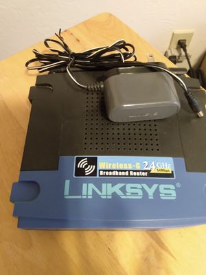 Linksys broadband router for Sale in Bend, OR