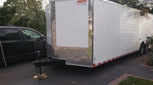 VNOSE ENCLOSED TRAILERS NEW 20FT 24FT 28FT 32FT RACE CAR TRUCK SLED BIKE ATV UTV MOTORCYCLE HAULER MOVING STORAGE for Sale in El Paso, TX