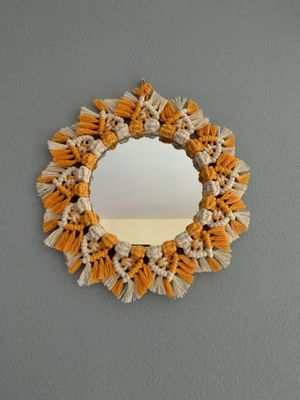 Macrame Mirror Wall Hanging for Sale in Maple Valley, WA