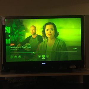 """75"""" Tv and Tv Stand for Sale in Southfield, MI"""