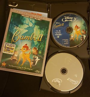 Disney Bambi 2 Bluray/DvD Special edition for Sale in Marysville, WA