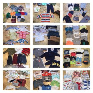 Baby boy clothes 0-12 for Sale in Richmond, VA