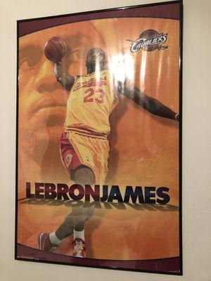 Lebron James Poster for Sale in Monroe, LA