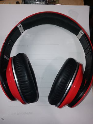 Red Monster Studio Beats By Dr. Dre for Sale in Raleigh, NC