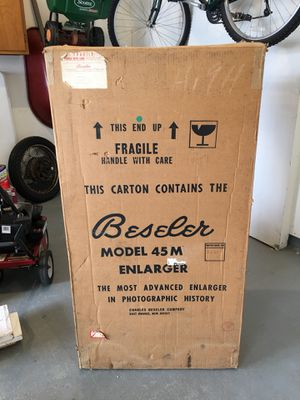 Bessler45MX chassis, condenser, negative carrier, lensboard and Schneider lens for Sale in Crofton, MD