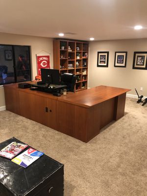 Solid wood executive desk for Sale in Vista, CA