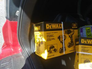 DeWalt brushless tool combo kit drill brand new in the box for Sale in Greensboro, NC