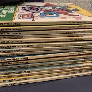 Sesame Street Books - Vintage for Sale in St. Petersburg, FL